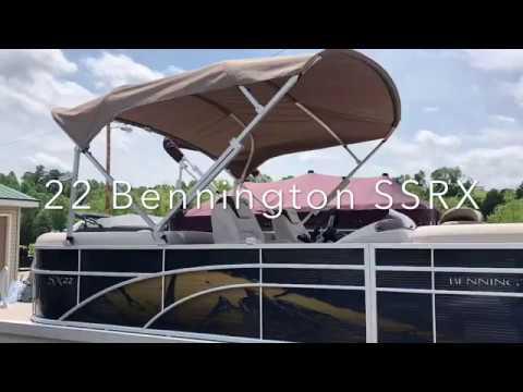Bennington 22 SSRX TRIPLE TOON video