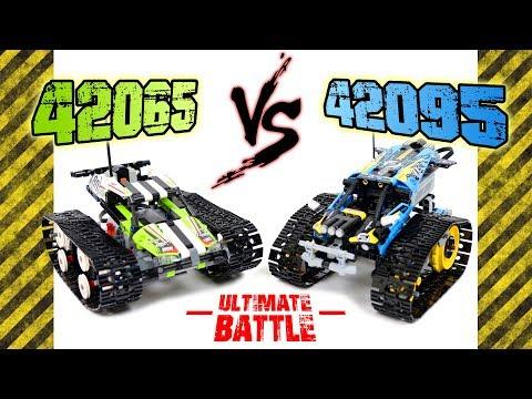 LEGO 42065 VS 42095 Ultimate Battle!