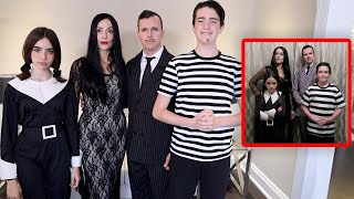Becoming The Addams Family!!