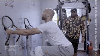 Minnesota Timberwolves Taj Gibson- Training with Travelle Gaines