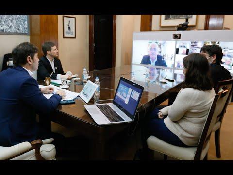 Videoconferencia por el Día de la Industria