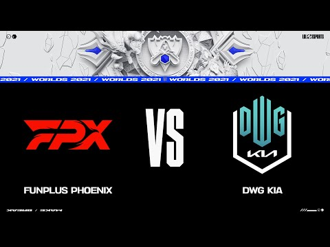 FPX vs. DK | Worlds Group Stage Day 4 | FunPlus Phoenix vs. DWG KIA (2021)