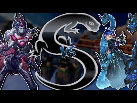 Smite - Do spiders FRAG? - Masters Ranked 1v1 Duel Arachne VS Scylla