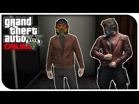 GTA 5 Online - FASHION FRIDAY! (Star Lord, Spongebob & BayWatch) [GTA V Cool Outifts]