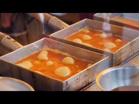Japanese Omelette Tamagoyaki∥玉子焼き∥Japanese Street Food