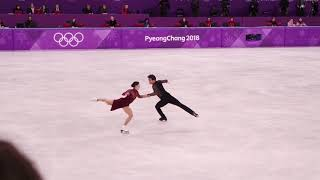 2018 pyeongchang olympic tessa virtue&scott moir FD moulin rouge (테사 스캇 FD 직캠) | Kholo.pk