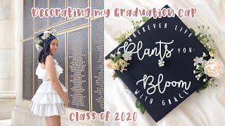 D.I.Y. GRADUATION CAP | Decorating My Graduation Cap