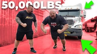 PULLING A 50,000LB SEMI IN NEW YORK CITY WITH EDDIE HALL