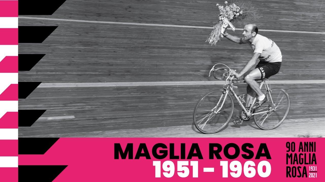 90Anni Maglia Rosa: 1951 – 1960