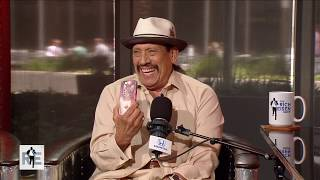 Tough Guy Actor Danny Trejo Shows Off His Kitty Phone Case   The Rich Eisen Show   6/21/17