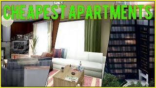 GTA 5 Online: Cheapest Apartments (low-end vs middle-end vs high-end)