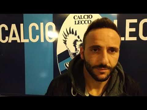 Lecco-Arezzo 2-2, intervista a Nello Cutolo