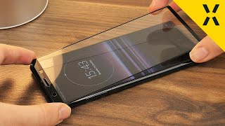Olixar Sony Xperia 5 Full Cover Glass Installation & Review