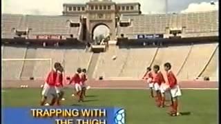 Смотреть онлайн Учим финты в футболе для начинающих
