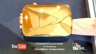 РАЗБИРАЕМ ЗОЛОТУЮ НАГРАДУ YouTube!