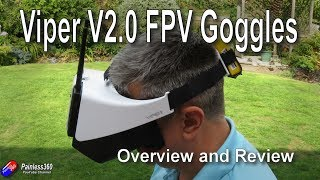 Quick Review: FXT Viper v2.0 FPV Goggles