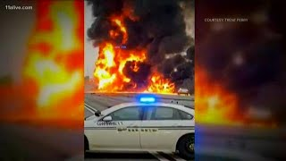Fire on I-85, black smoke in the air: Full coverage of a frightening, deadly Atlanta-area accident