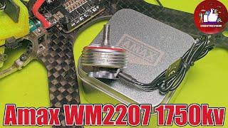 ✅ Мощные Моторы для FPV Дрона - AMAXinno WM 2207 1750KV под 6 банок! ????