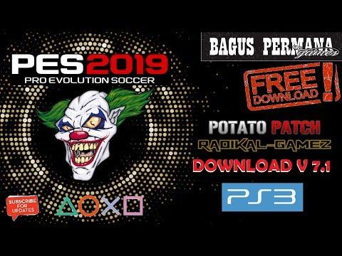 PES 2018 Season 2019 PS3 Potato Patch V7 AIO - смотреть