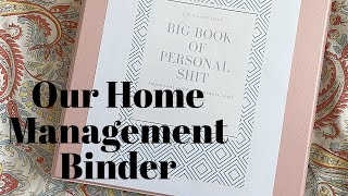 My Secret To A Clean And Organized Home | OUR HOME MANAGEMENT BINDER | The Pixie Planner