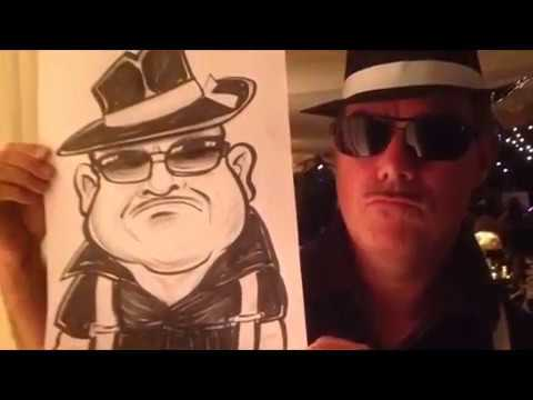 Mike C The Caricaturist Video