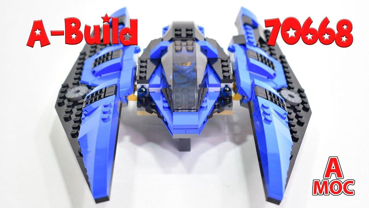 Star Wars TIE Striker LEGO 70668 Alternative build (A MOC)