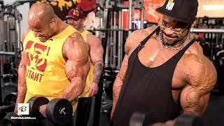 Massive Pump Biceps Workout | IFBB Pro's Renaldo Gairy, Manuel Romero, & Dusty Hanshaw by Bodybuilding.com