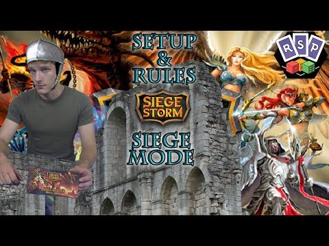 Siege Storm Siege Mode Setup and Rules (Solo/Co-op Play)