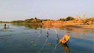 Рыбалка на реке краснохты