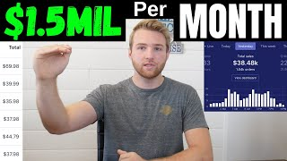 How I Grew My Shopify Sales To $1.5M Per Month (Revealing My 8-Figure Strategy)