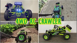 4-Wheel Drive Fun - WL Toys RC Car 12427 - 4WD/AWD Rock Crawler
