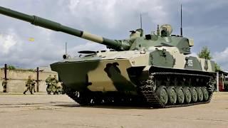 Самоходная противотанковая пушка 2С25 «Спрут СД»
