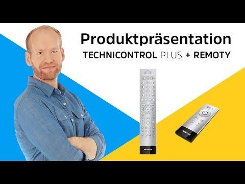 TECHNICONTROL PLUS/REMOTY | Smart-TVs und Receiver perfekt bedienen. | TechniSat