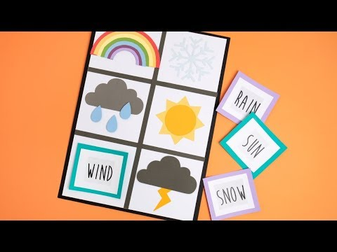 DIY Weather Game - Ellison Education