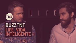 """""""Life: Vida Inteligente"""" Entrevista a Ryan Reynolds y Jake Gyllenhaal."""