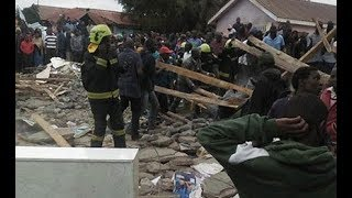 Classroom collapses on pupils in Nairobi