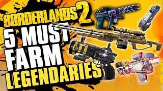 5 Must Farm Legendaries - Borderlands 2 Legendary Farming Guide