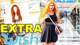 Wearing Very EXTRA Wish Wigs in Public! SO EMBARRASSING