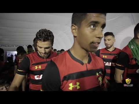 Bastidores de Sport 2x1 Vasco 2018