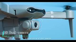 Zangão Drone câmera grande angular dobrável GPS 4k 5g wifi fpv 4k/1080p hd de vídeo ao vivo