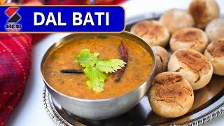 Khana Khazana - Dal Bati Recipe || Rajasthani Food on Khana Khazana || Sandesh News