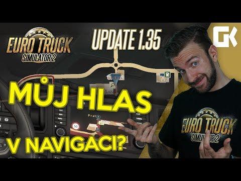 MŮJ HLAS V NAVIGACI? ANEB ČEŠTINA DO HLASOVÉ NAVIGACE! | Euro Truck Simulator 2