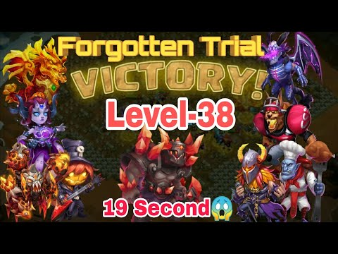 Forgotten Trial - Level 38 | Hero Set Up | Drop Point | 19