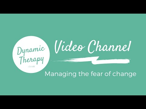 Managing the fear of change<br />This is one of a series of videos that I made on the subject of change.