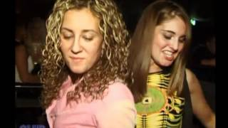 Club Upskirt: 2 Party Girls dance in the club