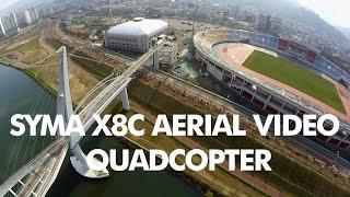 SYMA X8C AERIAL VIDEO