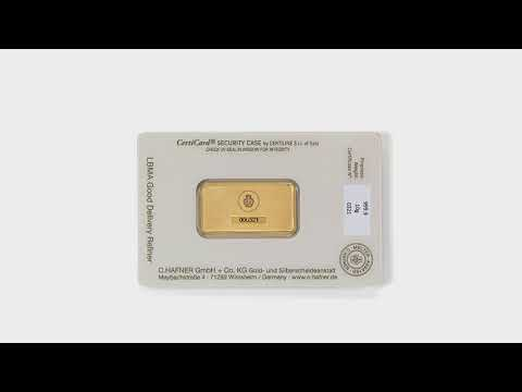 Video - 10 g Goldbarren - C.HAFNER