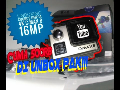 UNBOXING Cognos Omega C-MAX8 16MP