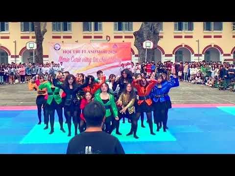 Cuộc thi nhảy Flashmob Trường Marie Curie - Giải Nhất toàn trường năm 2020