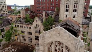 Abandoned City United Methodist Church   Gary Indiana   July 2017   Kholo.pk